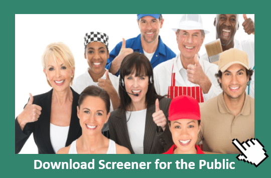 Download ADHD Screener for the Public